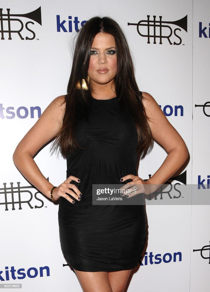 Khloe Kardashian attends the 'Rich Soil' launch party at Kitson on Roberston on October 21, 2009 in Beverly Hills, California.