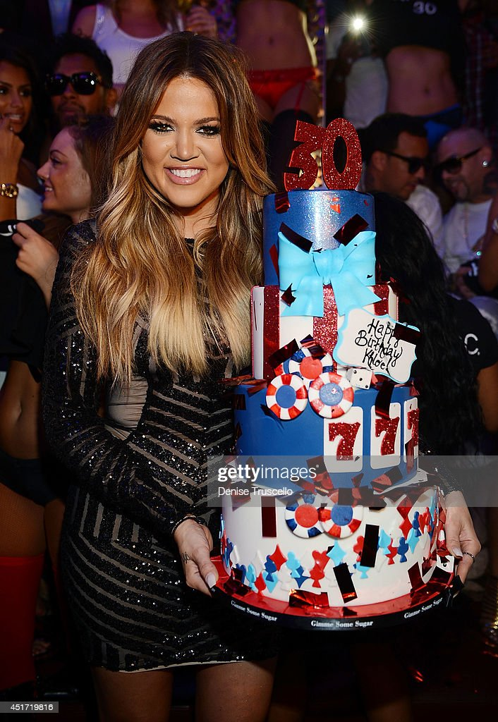 Khloe Kardashian Celebrates Her 30th Birthday At TAO Las Vegas : News Photo