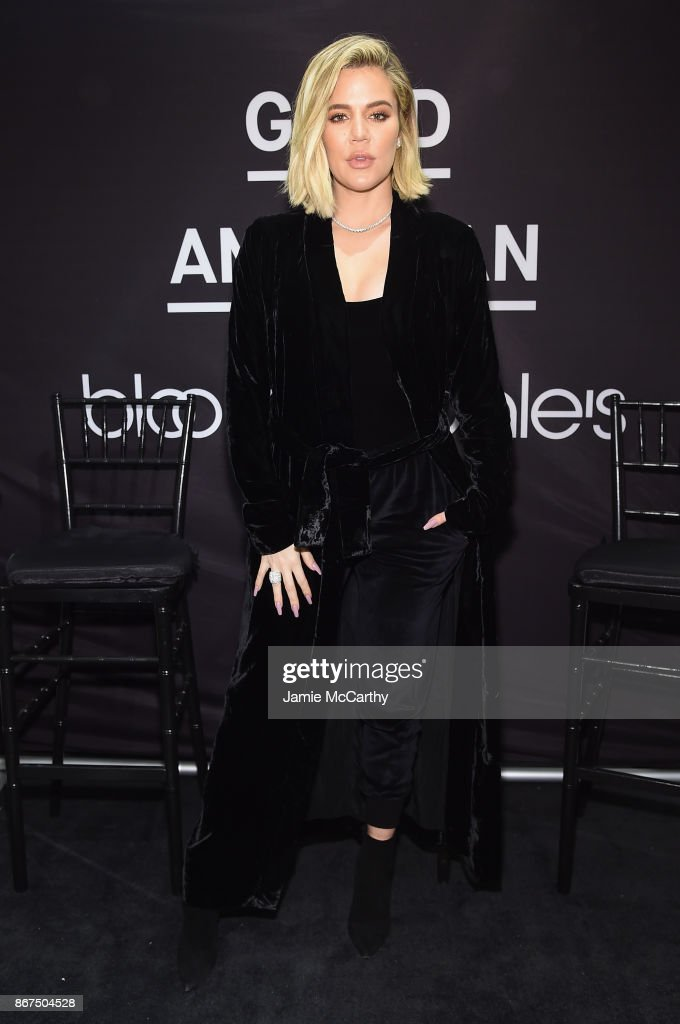 Khloe Kardashian And Emma Grede Celebrate The Launch Of Good American At Bloomingdale's : Foto di attualità