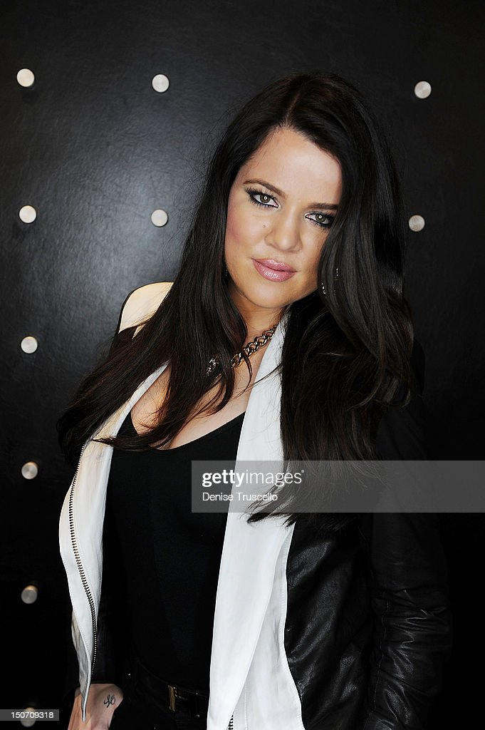 Khloe Kardashian during her special appearance at Kardashian Khaos at The Mirage Hotel and Casino on August 24, 2012 in Las Vegas, Nevada.