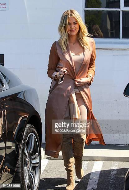 Khloe Kardashian is seen on June 16 2016 in Los Angeles California