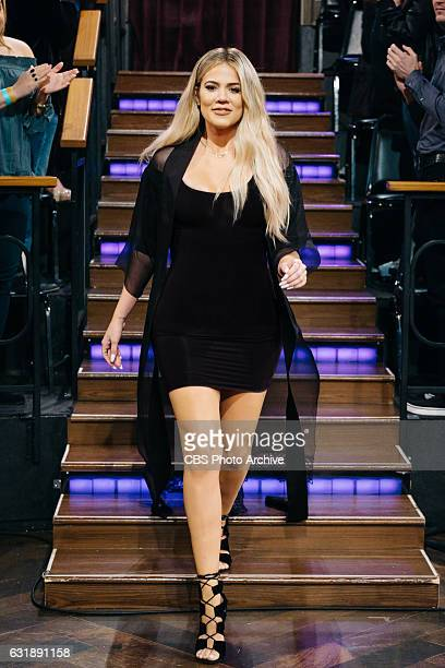 Khloe Kardashian joins James Corden on 'The Late Late Show with James Corden' Wednesday January 11 2017 On The CBS Television Network