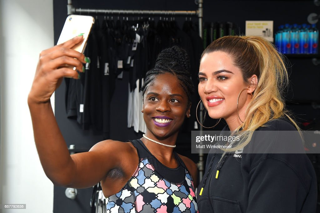 Khloe Kardashian Hosts Charity Ride At Cycle House To Benefit Children Hospital Los Angeles' Make March Matter Campaign : News Photo