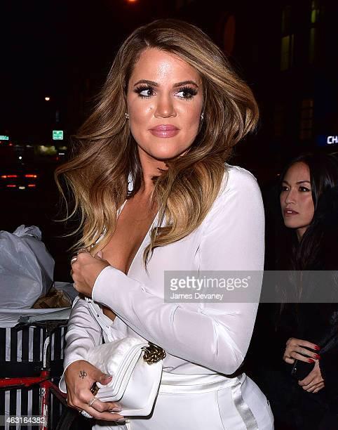 Khloe Kardashian seen on the streets of Manhattan on February 10 2015 in New York City