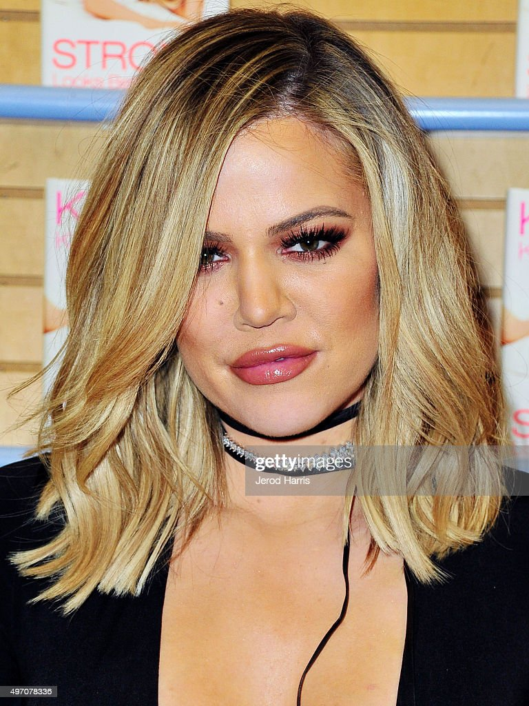 "Khloe Kardashian Book Signing For ""Strong Looks Better Naked"""