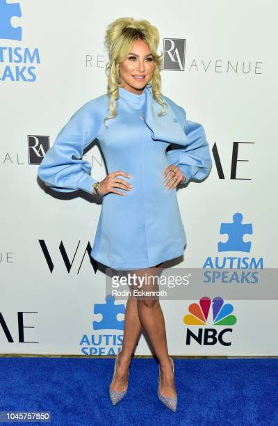 Khloe Terae attends the 2018 Autism Speaks Into The Blue Gala at Beverly Hills Hotel on October 4 2018 in Beverly Hills California