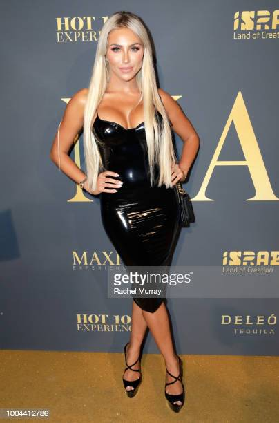 Khloe Terae attends The 2018 Maxim Hot 100 Party at Hollywood Palladium on July 21 2018 in Los Angeles California