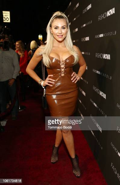 Khloe Terae attends the Fashion Nova x Cardi B Collaboration Launch Event at Boulevard3 on November 14 2018 in Hollywood California