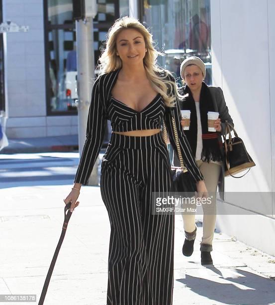 Khloe Terae is seen on January 21 2019 in Los Angeles CA