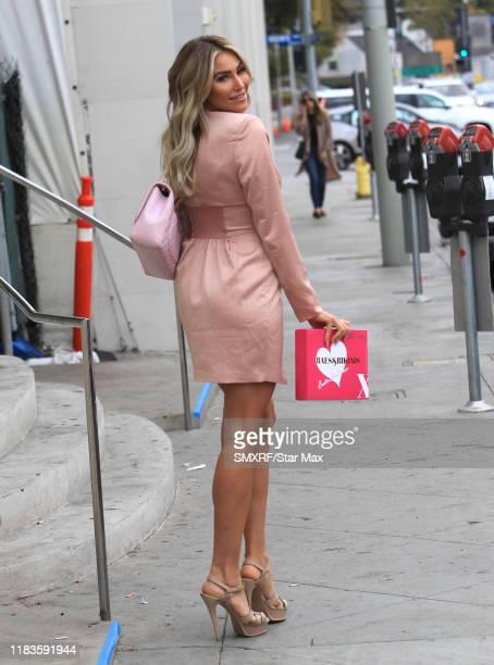 Khloe Terae is seen on November 19 2019 in Los Angeles California