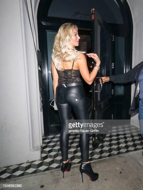 Khloe Terae is seen on October 05 2018 in Los Angeles California