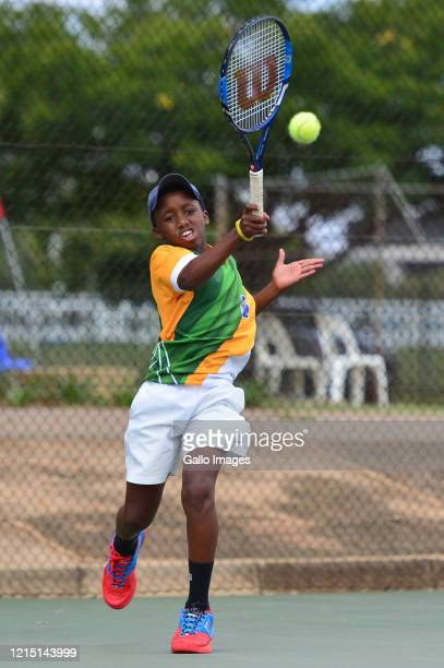 Khololwam Montsi during day 1 of the ITF African Junior Championships at High Performance Centre on March 15 2016 in Pretoria South Africa