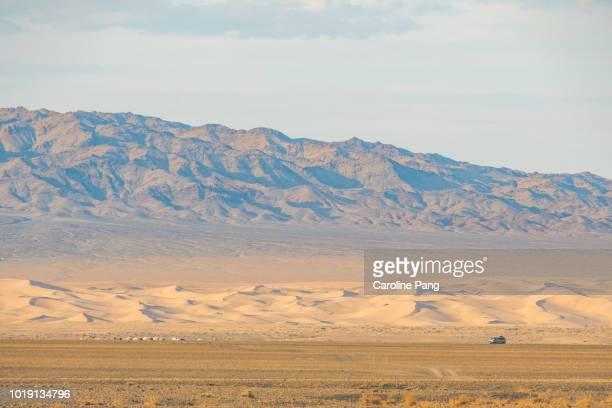 Khongoryn Els, sand dunes in the Gobi desert.