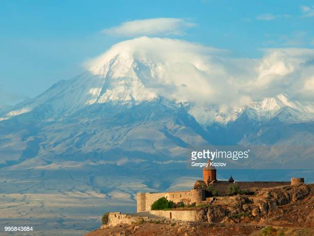 khor virap - monastery stock pictures, royalty-free photos & images