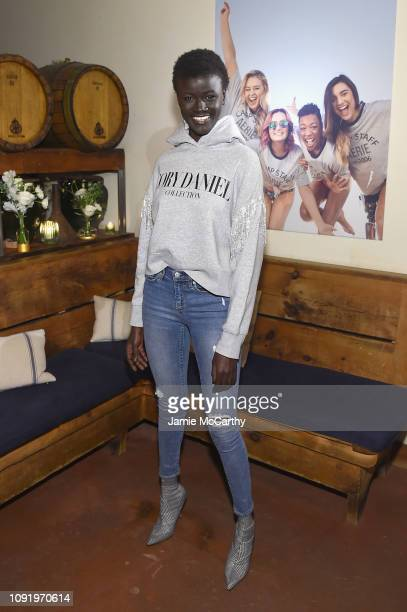 Khoudia Diop attends as Aerie celebrates #AerieREAL Role Models in NYC on January 31 2019 in New York City