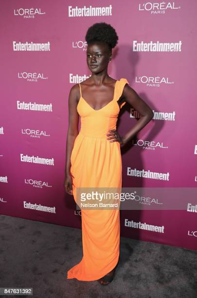 Khoudia Diop attends the 2017 Entertainment Weekly Pre-Emmy Party at Sunset Tower on September 15, 2017 in West Hollywood, California.