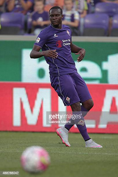 Khouma Babacar during the Serie A match between ACF Fiorentina and Genoa CFC at Stadio Artemio Franchi on September 12 2015 in Florence Italy