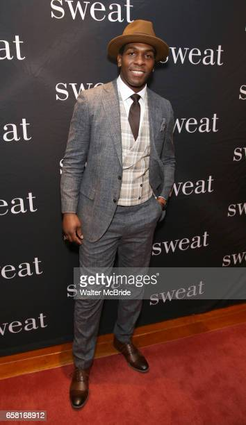 Khris Davis attends the after party for the Broadway Opening Night of Sweat at Brasserie 8 1/2 on March 26 2017 in New York City