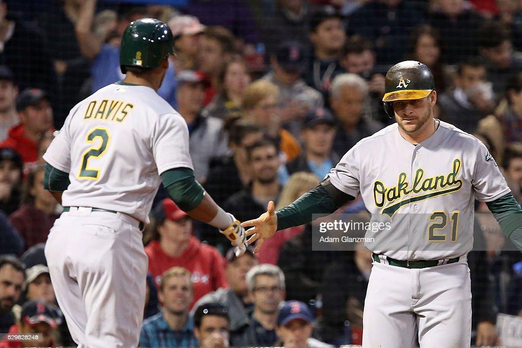Oakland Athletics v Boston Red Sox