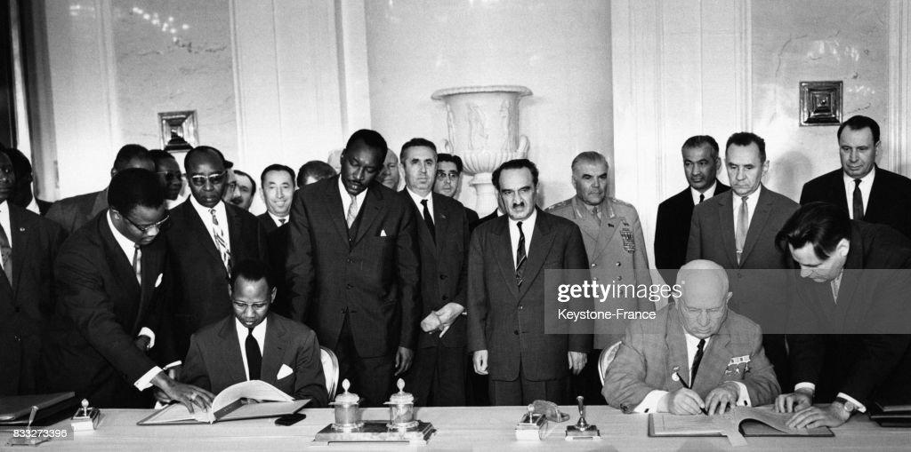 Le Président sénégalais à Moscou : Fotografia de notícias