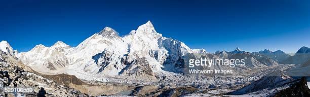 Khumbu glacier, Everest & Nuptse view, Kalapatar