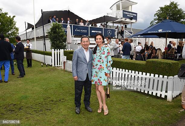 Khun Vichai Srivaddhanaprabha attends the Laureus King Power Polo Cup at Ham Polo Club on June 16 2016 in Richmond England