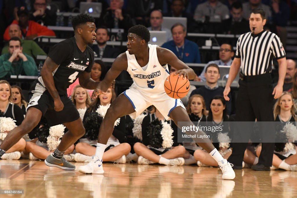 Big East Men's Basketball Tournament - Qr. Final Round : News Photo