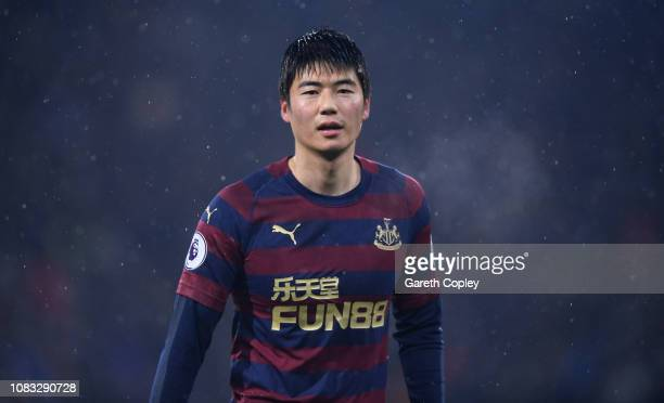 Ki Sungyueng of Newcastle United during the Premier League match between Huddersfield Town and Newcastle United at John Smith's Stadium on December...