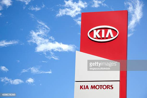 kia motors - kia stock pictures, royalty-free photos & images