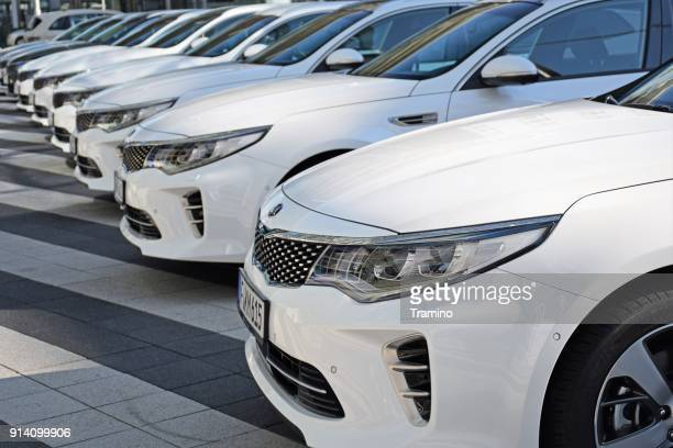 kia optima vehicles - kia stock pictures, royalty-free photos & images