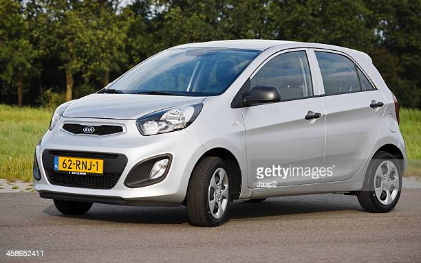 kia picanto 2011 model - kia stock pictures, royalty-free photos & images