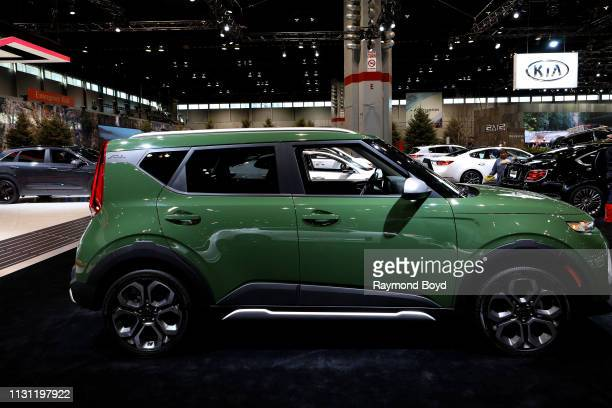 Kia Soul is on display at the 111th Annual Chicago Auto Show at McCormick Place in Chicago, Illinois on February 8, 2019.