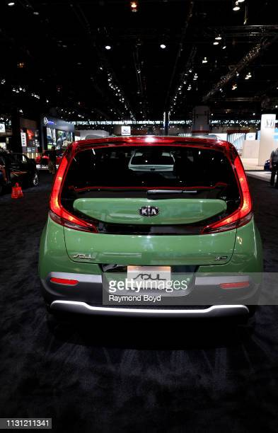 Kia Soul is on display at the 111th Annual Chicago Auto Show at McCormick Place in Chicago Illinois on February 8 2019