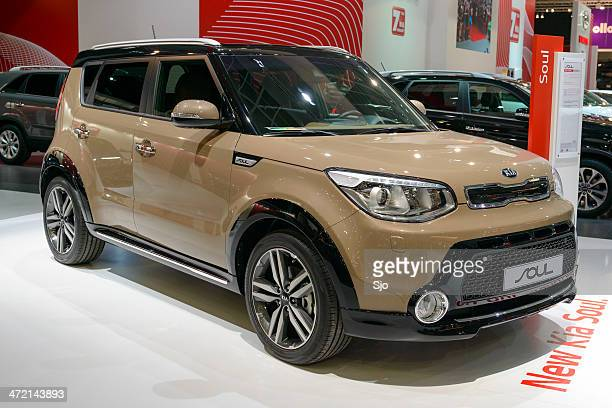 kia soul - kia stock pictures, royalty-free photos & images