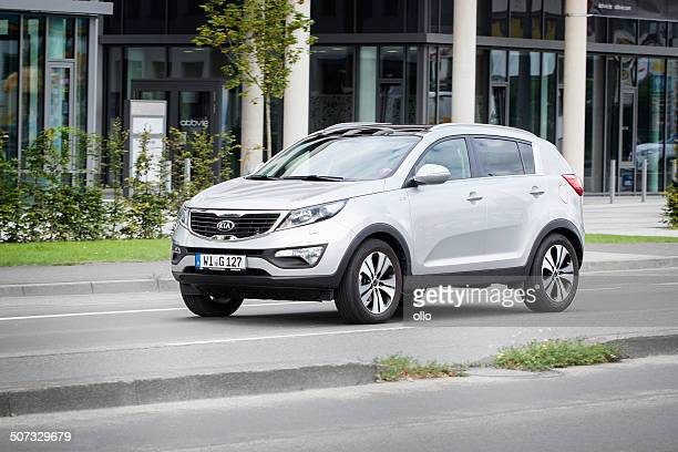 kia sportage - kia stock pictures, royalty-free photos & images