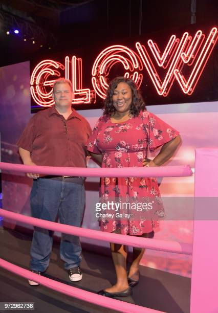 Kia Stevens attends Strong Black Lead party during Netflix FYSEE at Raleigh Studios on June 12 2018 in Los Angeles California