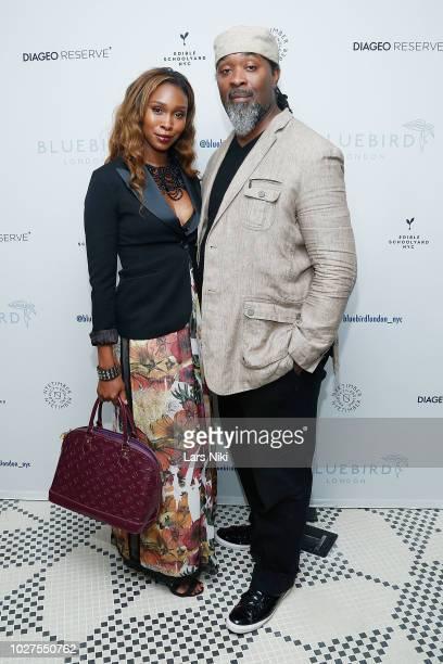 Kia Tillman and Jerry Tillman attend the Bluebird London New York City launch party at Bluebird London on September 5, 2018 in New York City.