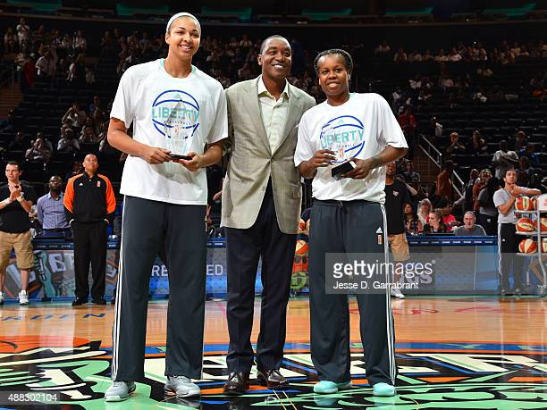 Kiah Stokes of the New York Liberty was named the WNBA Rookie of the Month presented by Samsung and Epiphanny Prince is named WNBA Eastern Conference...