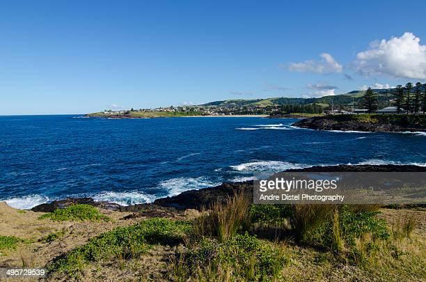Kiama and Kiama Downs coastal view