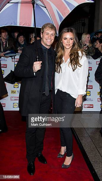 Kian Egan and Jodi Albert attend the Pride Of Britain awards at Grosvenor House on October 29 2012 in London England