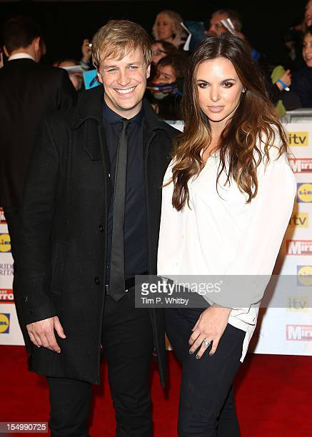 Kian Egan and Jodi Albert attend the Pride Of Britain awards at the Grosvenor House Hotel on October 29 2012 in London England