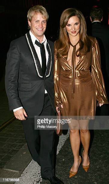 Kian Egan and Jodie Albert during Meteor Ireland Music Awards After Party at Spirit Nightclub in Dublin Ireland