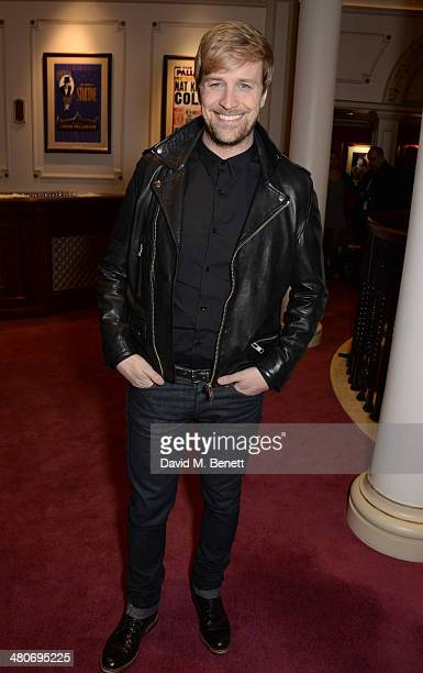 Kian Egan arrives at the press night performance of I Can't Sing The X Factor Musical at the London Palladium on March 26 2014 in London England