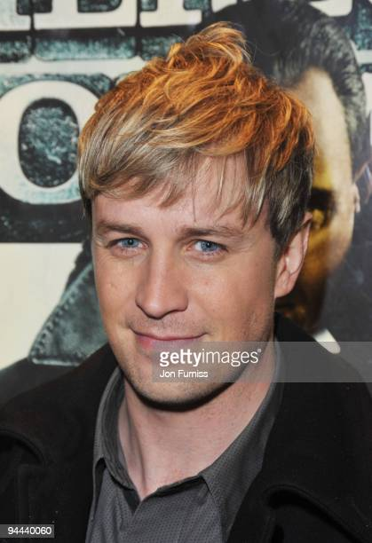 Kian Egan attends the World Premiere of 'Sherlock Holmes' at Empire Leicester Square on December 14 2009 in London England