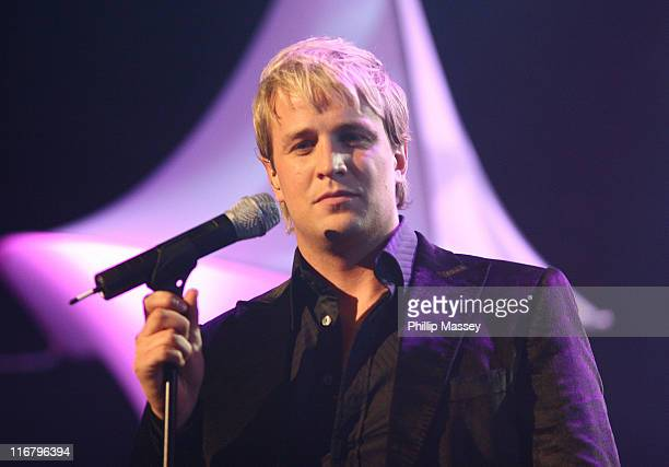 Kian Egan during Cherrios Childline Concert January 28 2007 at The Point in Dublin Ireland