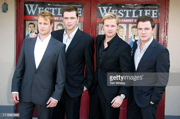 Kian Egan Mark Feehily Nicky Byrne and Shane Filan from Westlife