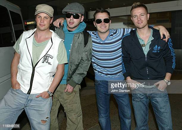 Kian Egan Mark Feehily Shane Filan and Nicky Byrne of Westlife