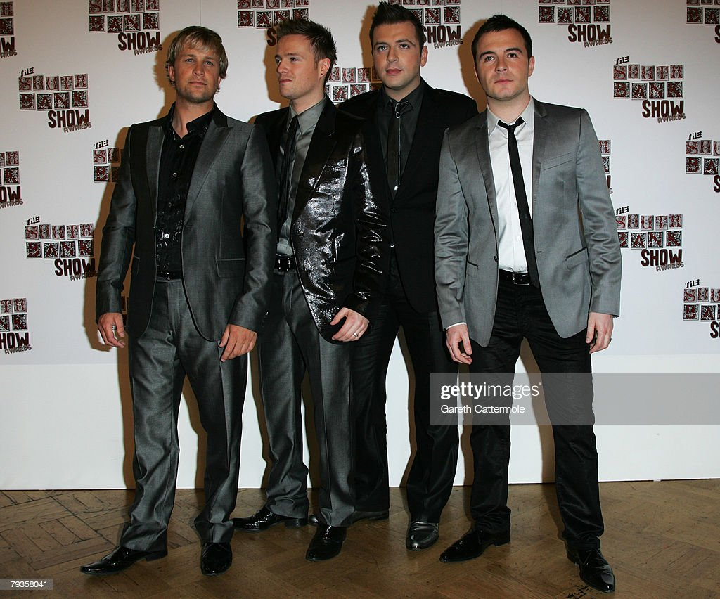 Kian Egan, Nicky Byrne, Mark Feehilly and Shane Filan of