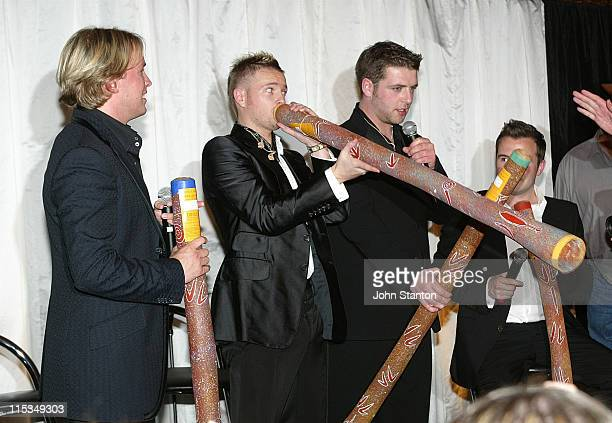 Kian Egan Nicky ByrneMark Feehily and Shane Filan of Westlife