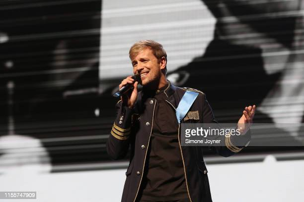 Kian Egan of Westlife at The O2 Arena on June 13, 2019 in London, England.